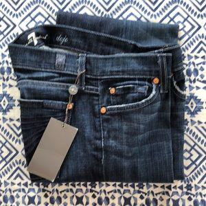 For all mankind NWT Dojo jeans size 27